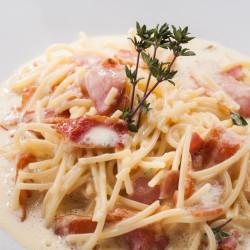 Спагетти карбонара из ресторана ОТТО
